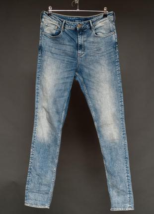 H & m. denim. джинсы варенки. прямые скини.