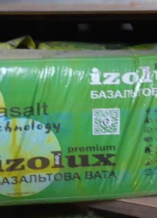 Базальтовая вата IZOLUX