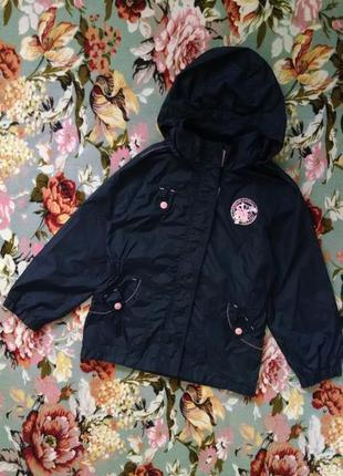 Куртка,ветровка,дождевик для девочки 7-8 лет