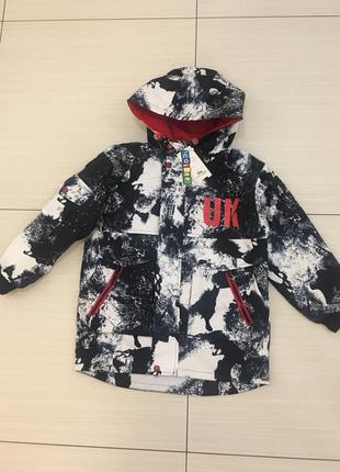 Демисезонная куртка на мальчика 140-170р новинка
