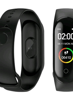 Фитнес-браслет M4 смарт часы (Xiaomi Mi Band 4 аналог)