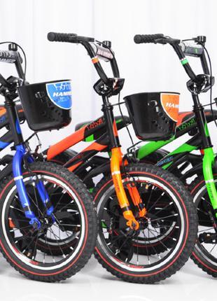 Детский двухколесный велосипед Hammer(от 5 лет) на 16 дюймов