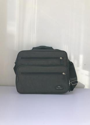Мужская сумка через плечо wallaby. цвет хаки