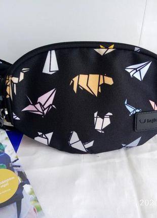 Бананка сумка на пояс , поясная сумочка bagland