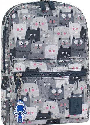 Рюкзак молодежный mini bagland на 8 л. сублимация коты.