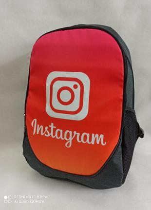 Рюкзак молодежный городской instagram.