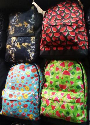 Рюкзак молодежный яркий городской
