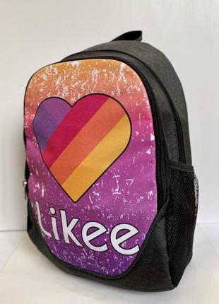 Рюкзак молодежный городской лайк