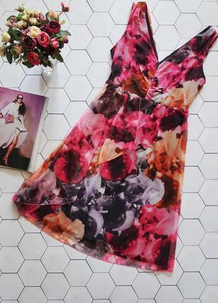 Сукня в квітковий принт / платье в красивый крупный цветочный ...