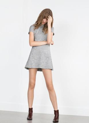 Платье из плотной ткани zara