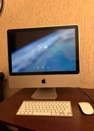 Моноблок Apple (1Tb, 4Gb RAM) с оригинальной клавиатурой и мышкой