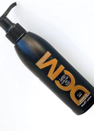 Молочко для вьющихся волос легкой фиксации dcm curly hair milk...