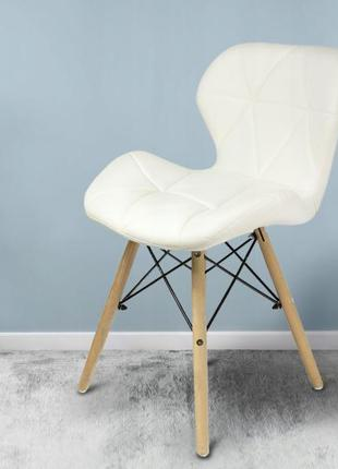 Кресло JUMI Scandinavian Design BLACK (эко-кожа) разные цвета
