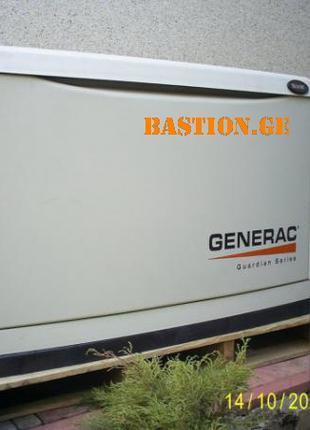 Газовый электрогенератор GENERAC 8 kW