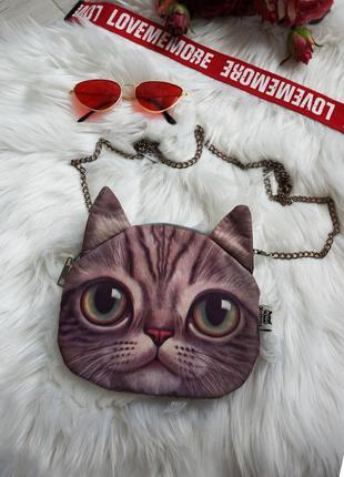 🔥🔥🔥сумка сумочка детская для девочки кот, с котом 20 х 17 см