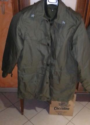 Куртка армейская,  с теплой подстежкой.