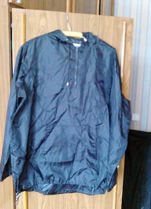 Куртка мужская спортивная непромокаемая, размер L/XL.