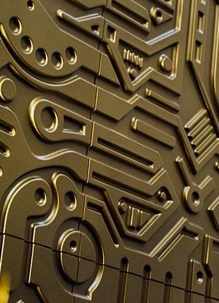 Гипсовая 3D панель ELECTRON