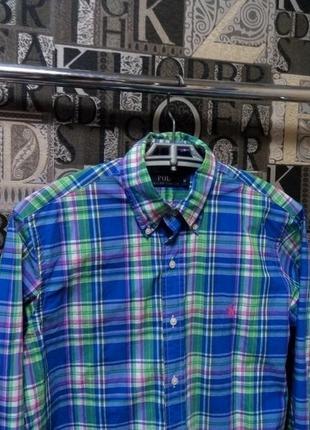 Ralph lauren рубашка мужская