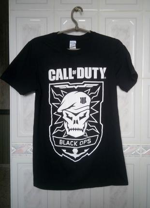 Call of duty футболка|black ops рост 160