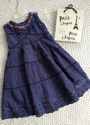 Платье M&S на 1-2 года