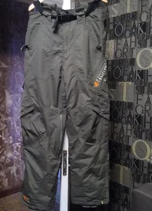 Geograpchical norway зимние теплые штаны трекинговые