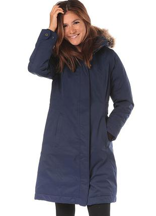 Marmot chelsea теплая зимняя куртка парка пуховая трекинговая