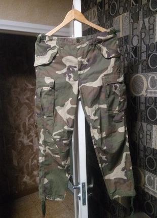 Камуфляжные милитари штаны asos new