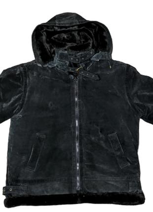 Бомбер авитатор пилот от wilda u.s.a retro b 3 leather jacket