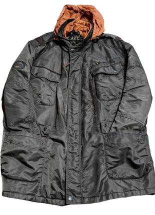 Милитари куртка парка сamel active|4хл|xхххл