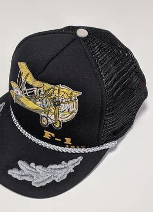 Винтажная кепка милитари f-1