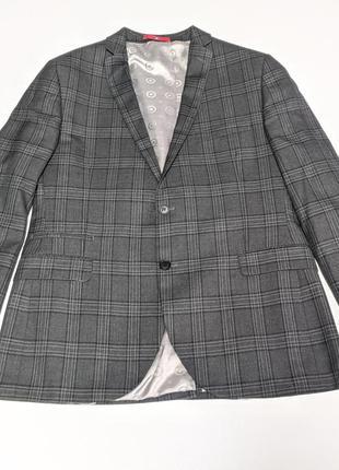Lambretta английский мужской костюм 3-ка slim fit блейзер штан...