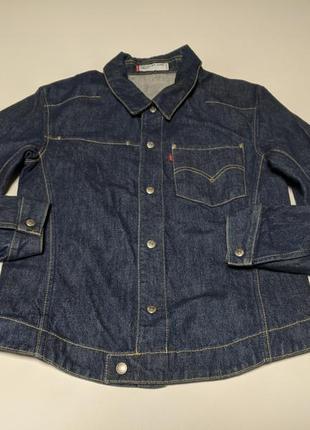 Levis engineered  винтажная джинсовка джинсовая  куртка