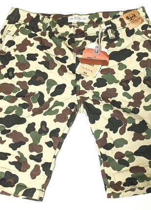 Bellfield jakarta chino shorts камуфляжные шорты летние