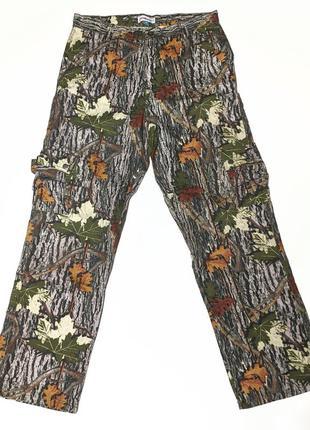 Сrane камуфляжные штаны карго для охоты рыбалки