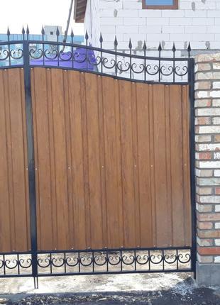 Ворота, навесы