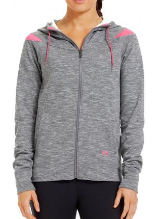 Супер худи от under armour charged cotton storm marble full zi...