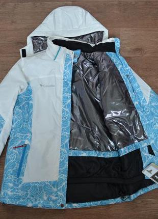 Женская зимняя куртка columbia titanium (горнолыжная)