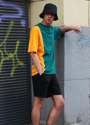 Футболка doubl green yellow