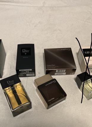 Dior Homme Calvin Klein Herve Gambs Mugler Tom Ford Creed Armani