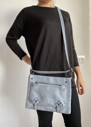 Сумка с длинной ручкой, удобная сумка через плечо, кроссбоди.