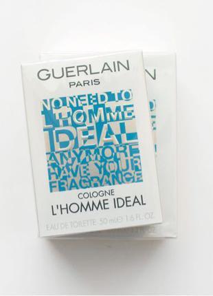 Guerlain l'homme ideal cologne оригинал 50 мл