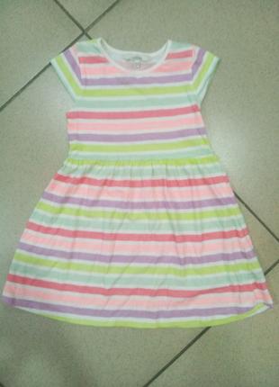 Летнее платье для девочки 5-6 лет