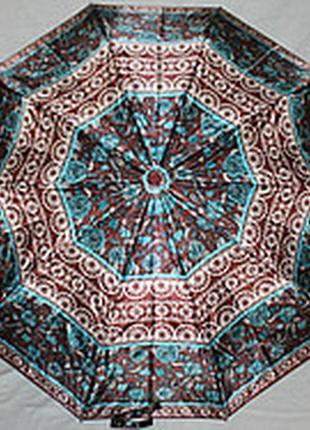 Зонт женский sr 301s 5161 антиветер автомат сатиновый купол