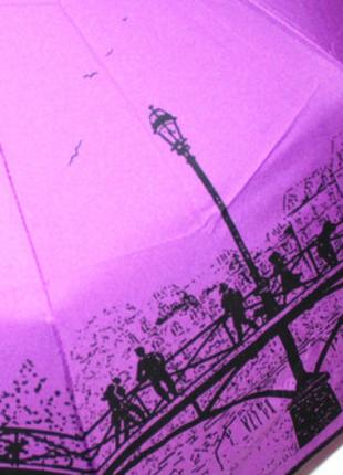 Зонт женский sr 707 0401 антиветер автомат