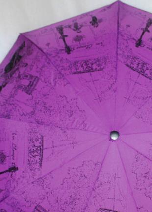 Зонт женский sr 707 0404 антиветер автомат