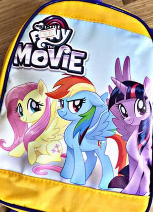 Детский рюкзак для девочек  литл пони,