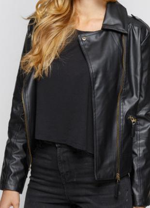 Женская куртка-косуха 8451