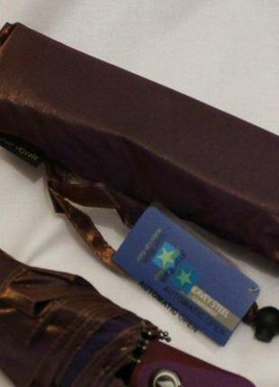 Зонт женский sr 301ch-2 антиветер автомат хамелеон коричневый
