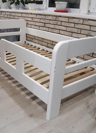 Детская кровать для детей Нота. Подростковая кровать  для ребенка
